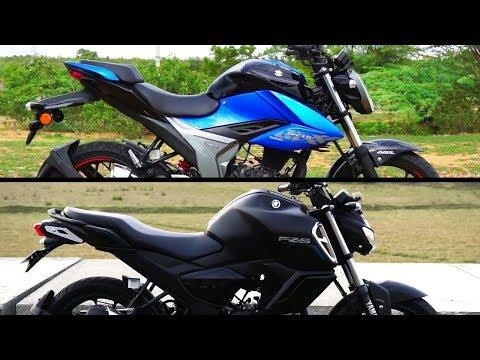 Suzuki Gixxer 155 vs Yamaha FZS V3.0 Which is Better #Bikes@Dinos