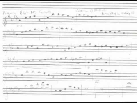 pokemon violin sheet music