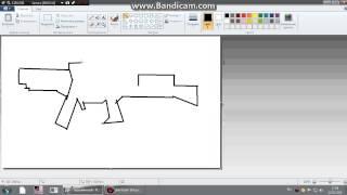 как нарисовать автомат в paint(, 2015-06-13T13:22:40.000Z)