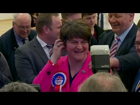 Democratic Unionist Party finish one seat ahead of Sinn Fein in N. Ireland snap election