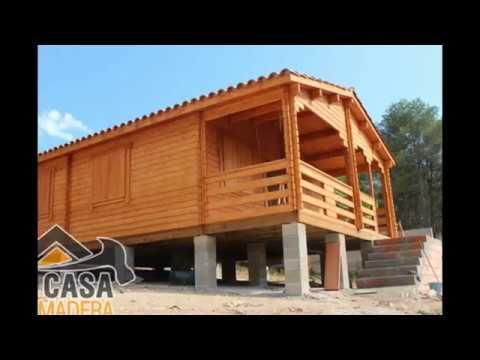 Casas de madera construidas en mi casa de madera youtube - Youtube casas de madera ...