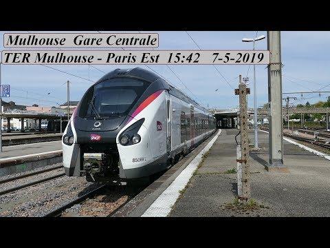TER Mulhouse - Paris Est.