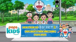 Hoạt Hình Doraemon Giáo Dục An Toàn Giao Thông | Chương Trình Thiếu Nhi Hay Cho Bé