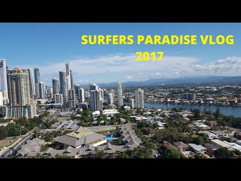 Gold Coast, Surfers Paradise and Cavill Mall VLOG July 2017