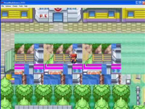 Pokemon Leafgreen- Walk Through Walls Code For Gameshark