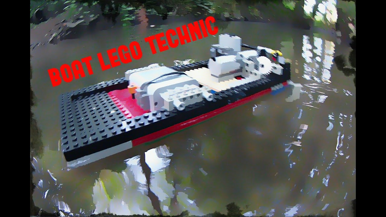 concept lego bateau rc hd youtube. Black Bedroom Furniture Sets. Home Design Ideas