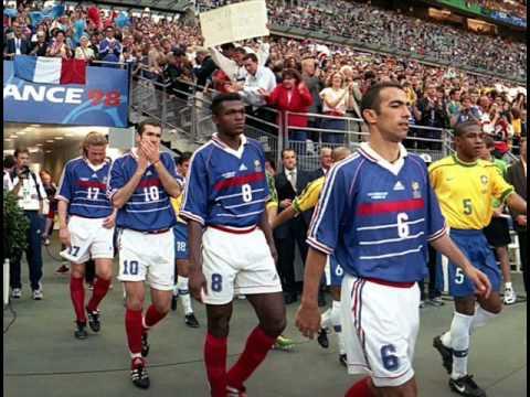 Marseillaise lors de la finale coupe du monde 1998 youtube - Coupe du monde 1998 chanson ...