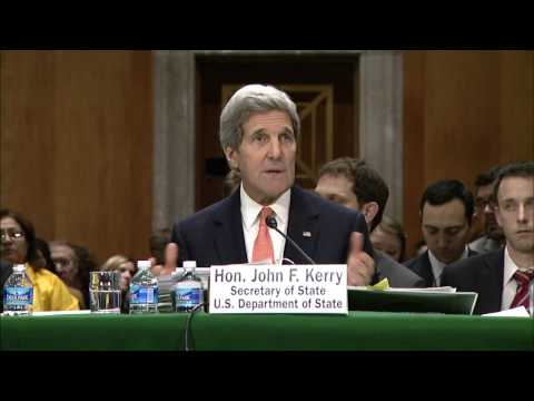 Secretary Kerry Testifies on the Budget Before the Senate Foreign Relations Committee