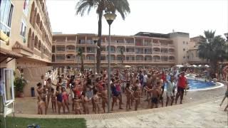 Flasmob Hotel Bahía Tropical Agosto 2014