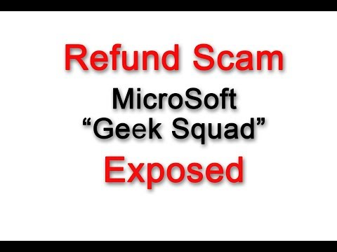 Refund Scam Exposed - MicroSoft