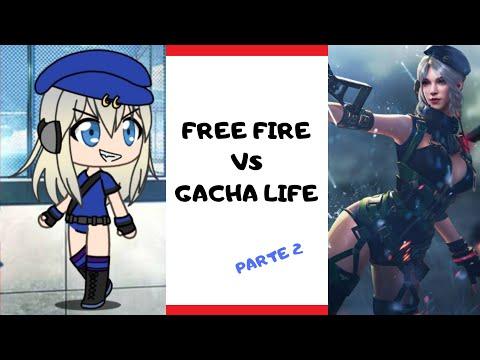 Personajes de Free Fire a Gacha Life. Parte 2