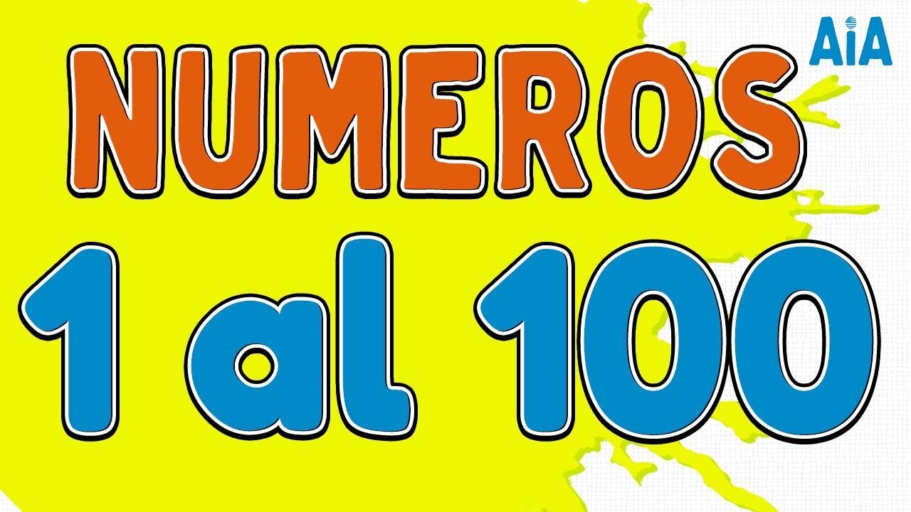 Números Del 1 Al 100 En Inglés Con Pronunciación