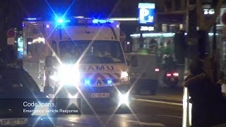 SMUR en Urgence // Emergency Ambulance Responding Paris