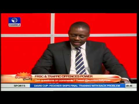 FRSC To Introduce Speed Governor,  June 1, 2015 PT3