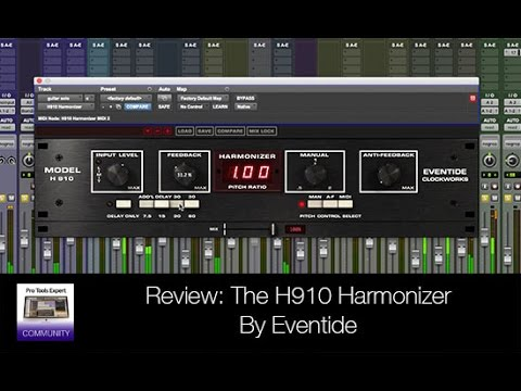 Review - H910 Harmonizer By Eventide