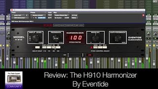 review h910 harmonizer by eventide