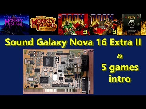 AZTECH SOUND GALAXY NOVA 16 EXTRA II-3D DRIVER FOR WINDOWS 10