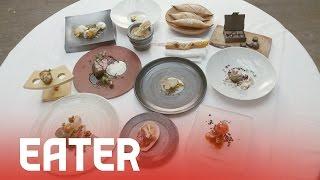 Spago, Fall 2014 - 60 Second Tasting Menu