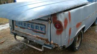 1965 Mercury EM-100 Econoline Pick up For Sale E100 pickup