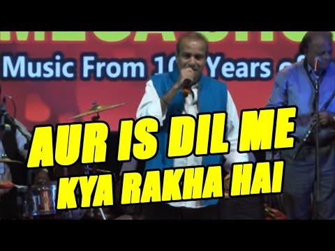 Aur is dil me kya rakha hai by Suresh Wadkar ji.... Imandar