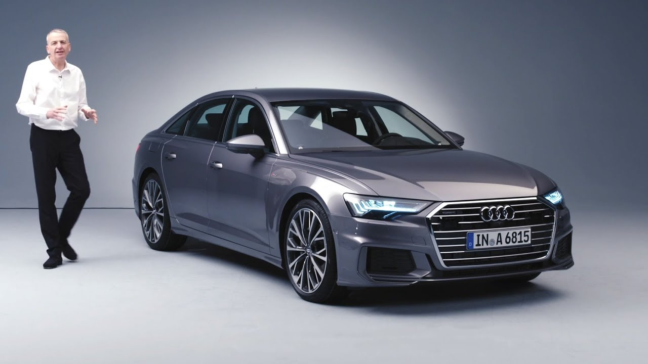 new 2019 audi a6 revealed mild hybrid and high tech all over. Black Bedroom Furniture Sets. Home Design Ideas