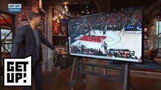 Jalen Rose breaks down film: Raptors-Wizards, Bucks-Celtics, Pelicans-Trail Blazers | Get Up! | ESPN