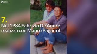9 Curiosità su Fabrizio De Andrè