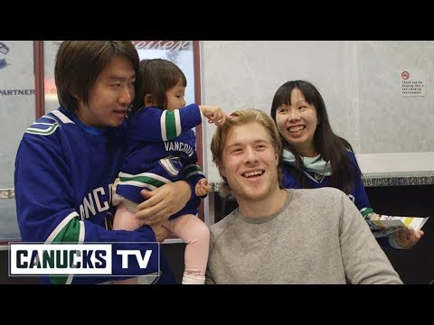 Brock Boeser Gets A Haircut (Dec. 16, 2017)