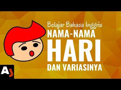 Nama Hari dalam Bahasa Inggris (beserta Variasinya)   Belajar Bahasa Inggris