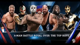WWE 2K15 - Ад в клетке и 6 человек на ринге