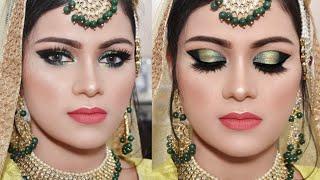 घर बैठे खुद करें दुल्हन अफोर्डेबल मेकअप Indian Muslim Bridal Makeup Tutorial| Affordable Products
