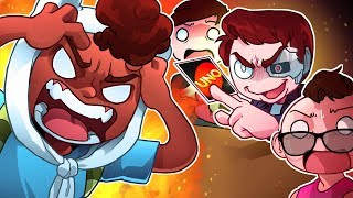 MAKING FRIENDS ANGRY AT A CHILDREN'S CARD GAME! - UNO Funny Moments