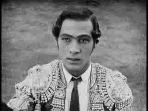 "Rodolfo Valentino - movie ""Blood and Sand"" (1922)"