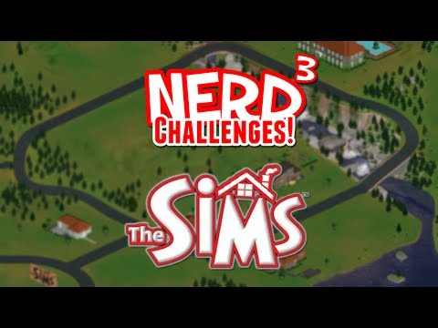 Nerd³ Challenges! 3 Day Baby - The Sims