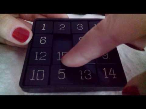 АСМР видео. Научу играть в пятнашки.