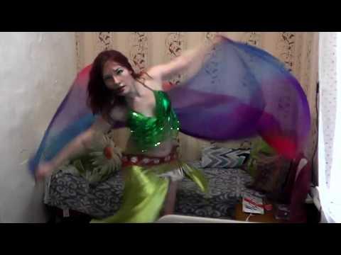 Восхитительный танец живота с платком | Lovely Belly Dance Veil
