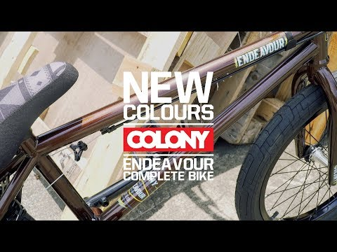 All new Brushed Bronze Colony Endavour complete bike, this colour really comes to life in the sun, check it out at your local shop now. More info here: ...