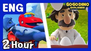 🌟 [Season 3]GOGODINO EXPLORERS ENG 10 Episode Compilation 2🌟/ ENG / Dinosaur / dino / children