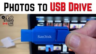 Export photos to USB drive from iPhone/iPad