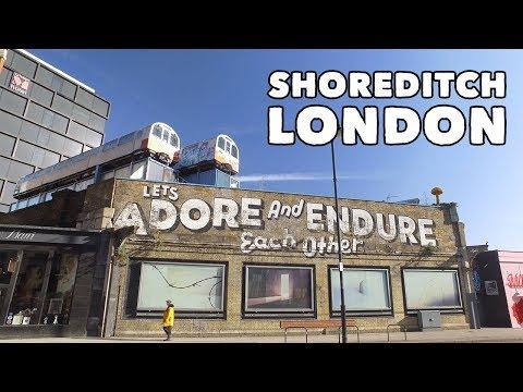 Shoreditch London - Virtual Tour! 🇬🇧