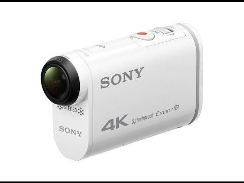 Sony Action Cam FDR-X1000V  (тест подводной съемки в 4к)