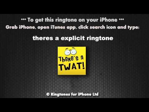 There's A Twat Calling Now Ringtone
