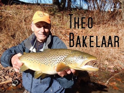 Theo Bakelaar Fly Tying Tutorials
