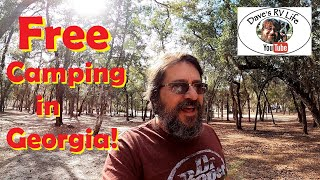 Free Camping in Geoŗgia for 7 Days! - Staying South for a While.