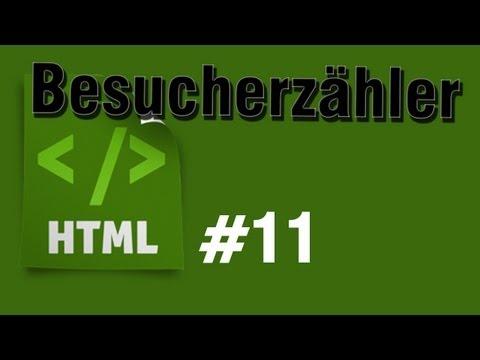 HTML Tutorial 11: Besucherzähler Einbinden [HD] - TutorialChannel