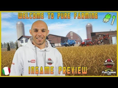 PURE FARMING 2018 FIRST LOOK  PRE ALPHA | ALEXFARMER GAMEPLAY ITA