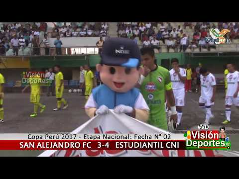 Defensor San Alejandro FC (3) vs Estudiantil CNI (4) - Fecha N° 02 / Etapa Nacional - Copa Perú 2017