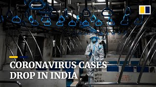 India, with the second most Covid-19 infections globally, sees a downward trend