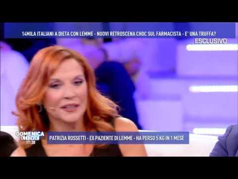 Patrizia Rossetti, ex paziente di LEMME. Ospite a DOMENICA LIVE