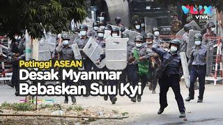 Redam Kekerasan di Myanmar, Petinggi ASEAN Adakan Pertemuan